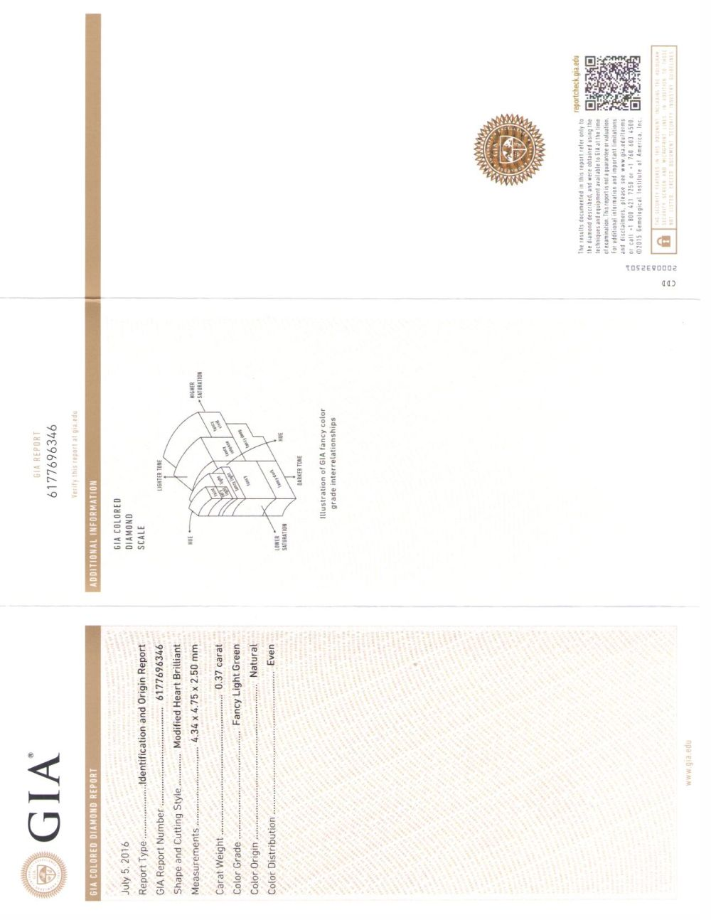 037 carat heart diamond diamond grading report from the gia report nvjuhfo Choice Image